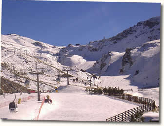 estacion de ski sierra nevada